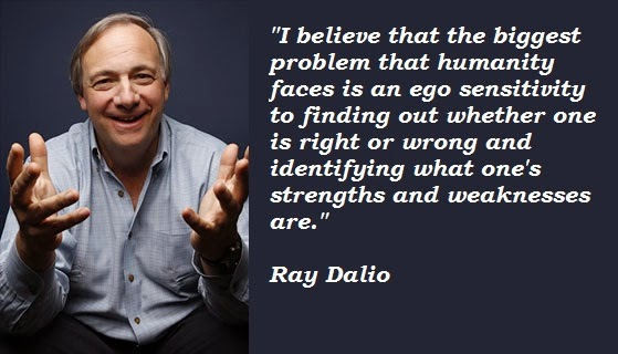 How do I know I'm right, asks Ray Dalio.