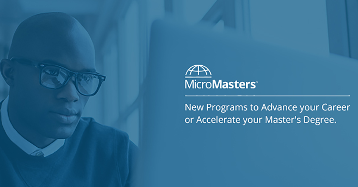 Micromasters from Edx