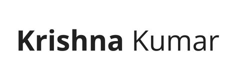 Krishna Kumar Logo
